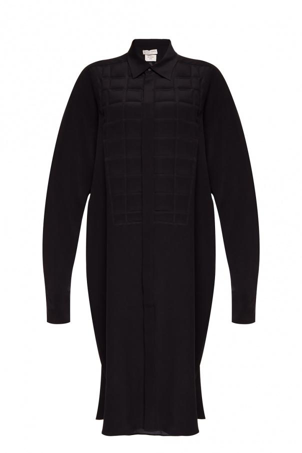 真丝长袖连衣裙 od Bottega Veneta