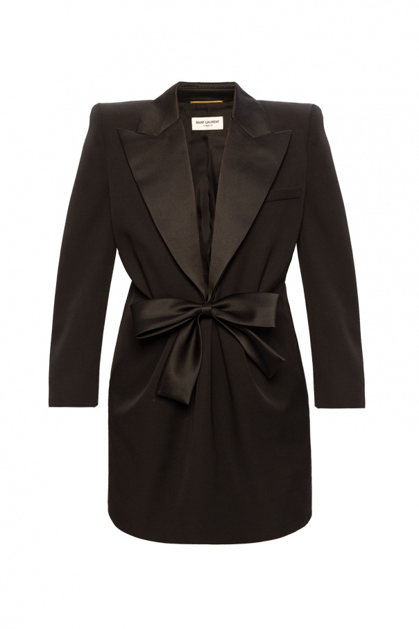 Saint Laurent Tuxedo dress
