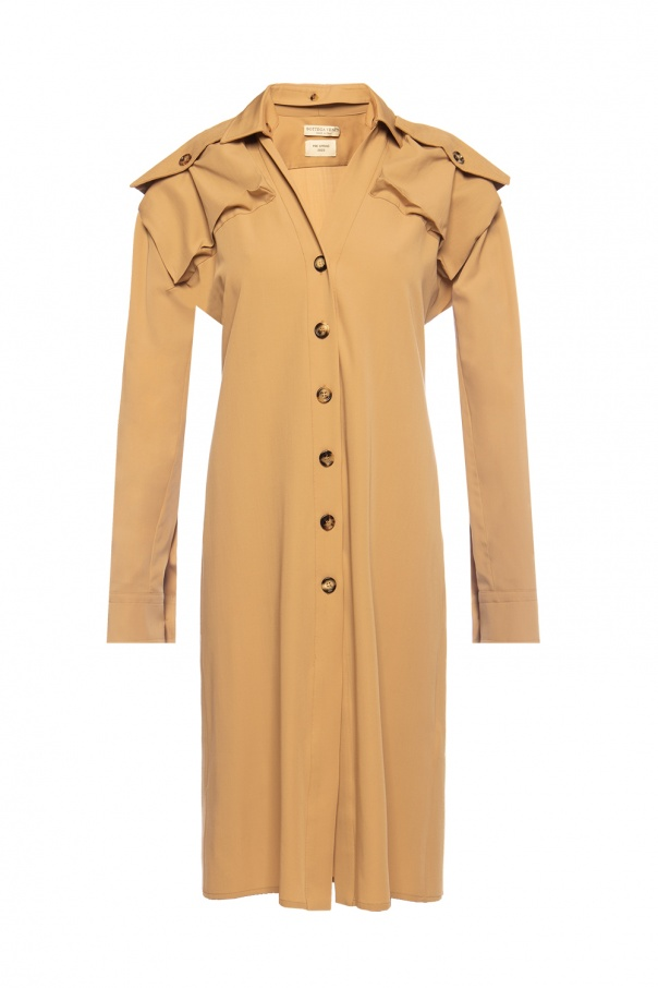 Bottega Veneta Dress with corduroy inserts