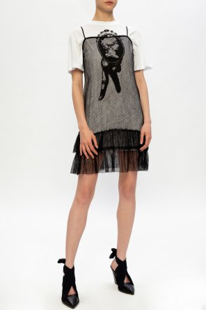Double-layered dress od McQ Alexander McQueen