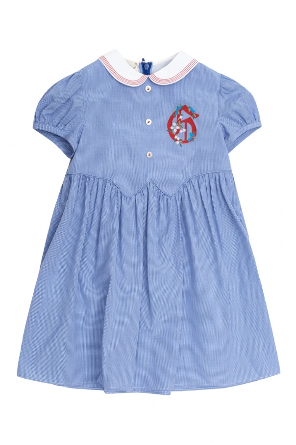 Gucci Kids Checked dress