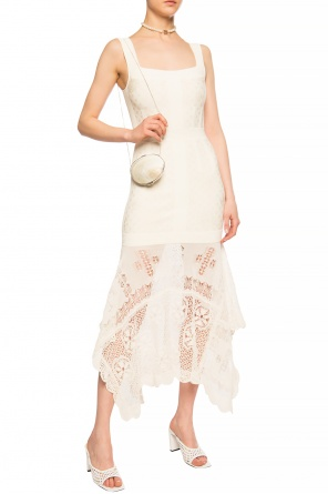Openwork dress od Alexander McQueen