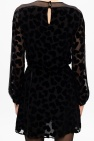 Saint Laurent Heart-printed dress