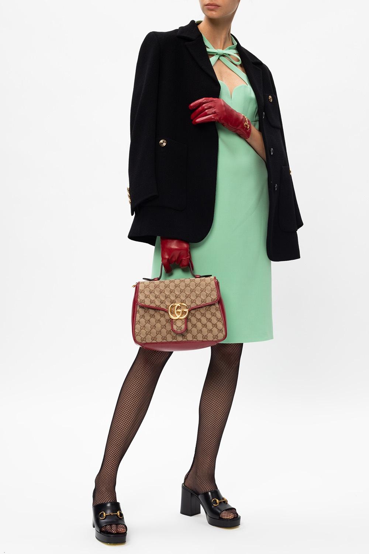 Gucci Sukienka z dekoracyjnym dekoltem