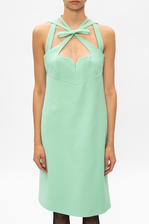 Gucci Dress with distinctive neckline