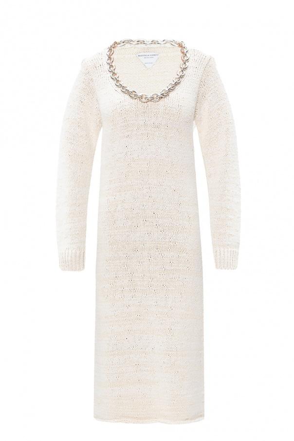 Bottega Veneta Chain-embellished dress