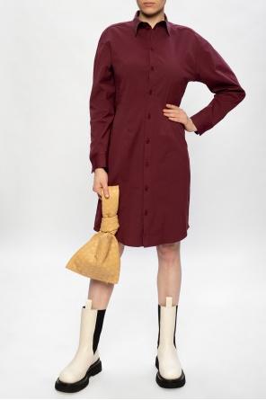 Dress with collar od Bottega Veneta