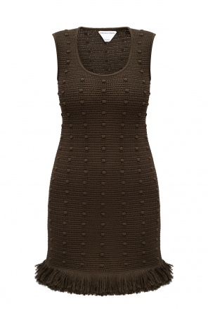 Knitted sleeveless dress od Bottega Veneta