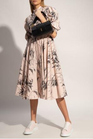 Dress with band collar od Alexander McQueen