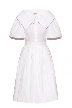 Flared dress od Alexander McQueen