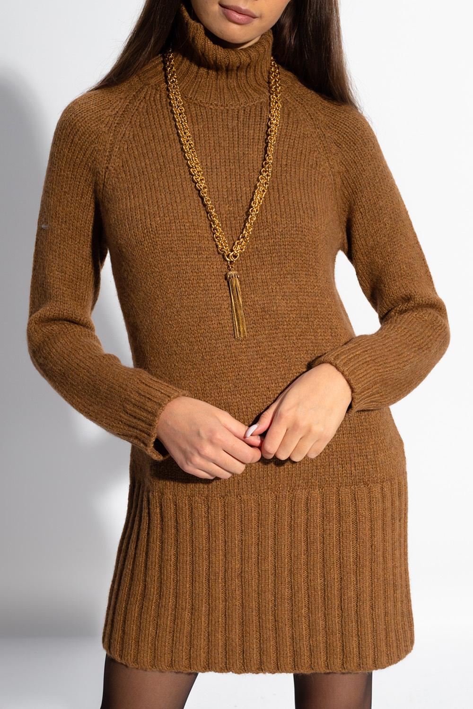 Saint Laurent Oversize turtleneck sweater