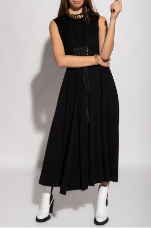 Sleeveless dress od Alexander McQueen