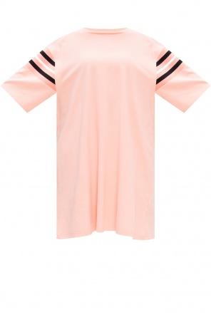 Long-line t-shirt with logo od Fila