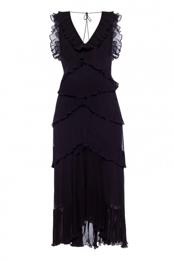 Long frilled dress od Zimmermann