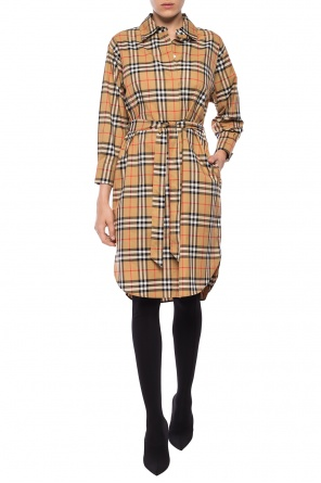 Belted dress od Burberry