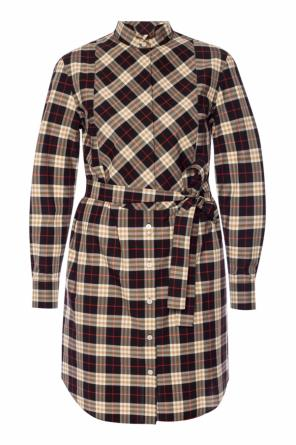 Checked dress od Burberry