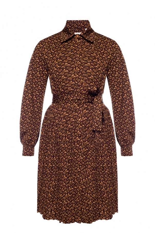 Burberry Dress with pleated bottom