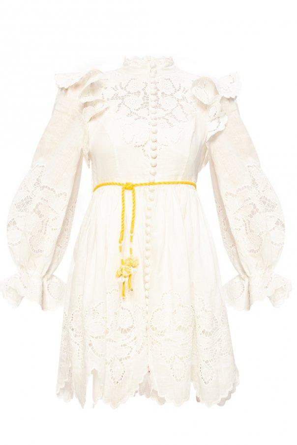Zimmermann 镂空连衣裙