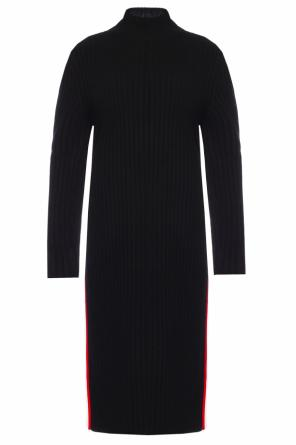 Turtleneck ribbed dress od Calvin Klein