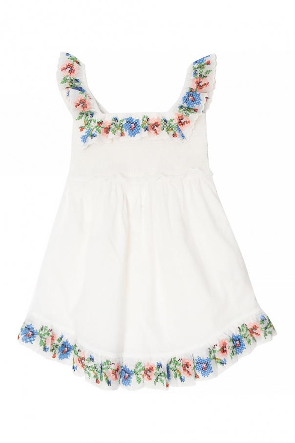 Zimmermann Kids Embroidered dress