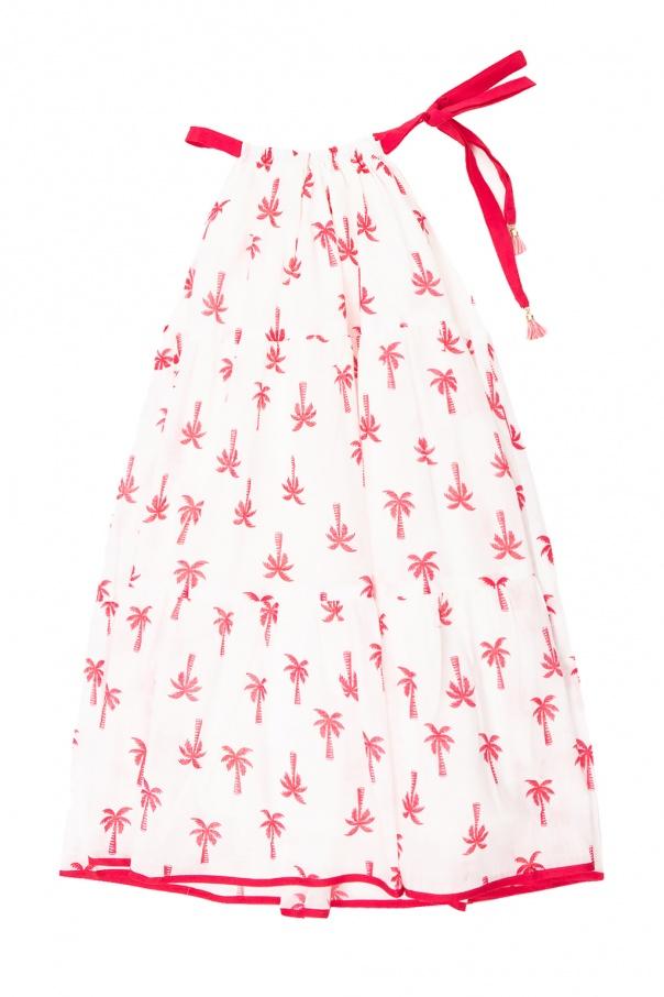 Zimmermann Kids Dress with tie straps