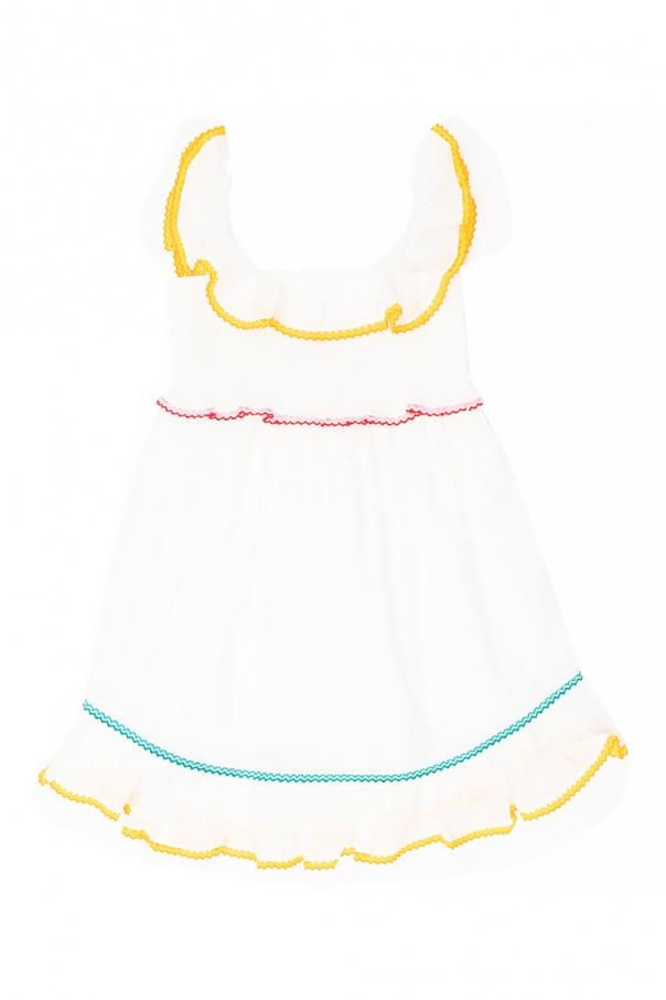 Zimmermann Kids Dress with straps