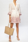 Zimmermann Flared dress with puff sleeves
