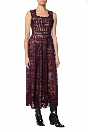 Openwork striped dress od Alaia