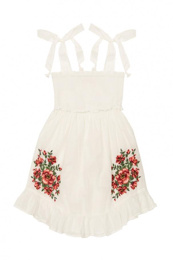 Zimmermann Kids Ruffled dress