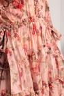 Zimmermann Silk dress with long sleeves