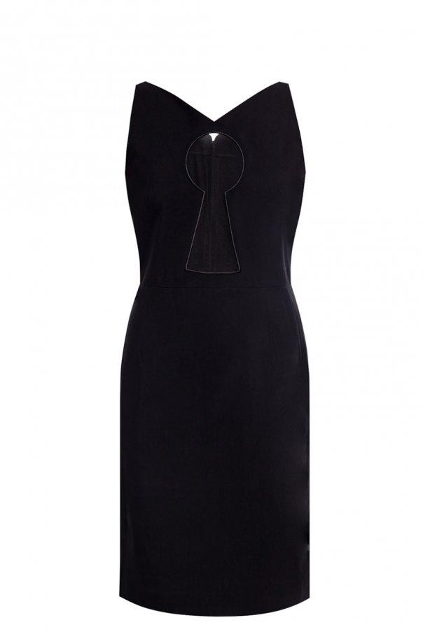 Moschino Dress with sheer insert