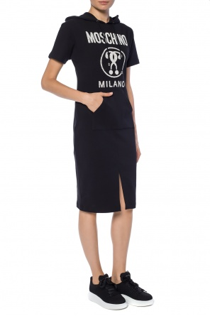 Hooded dress od Moschino