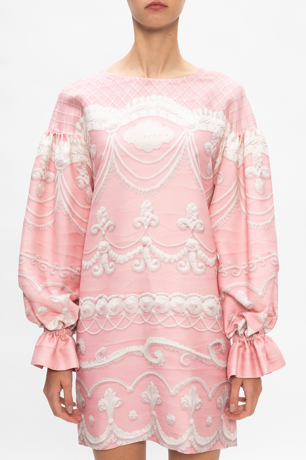 Moschino Dress with puff sleeves
