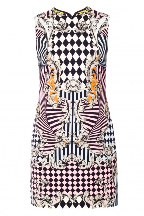 Printed dress od Versace