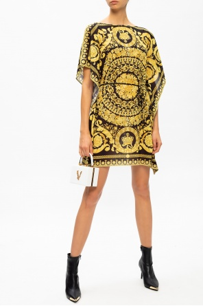 Barocco print dress od Versace