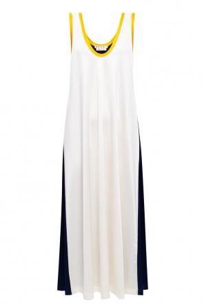 条纹饰连衣裙 od Marni