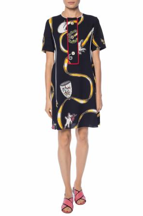 Printed dress od Marni