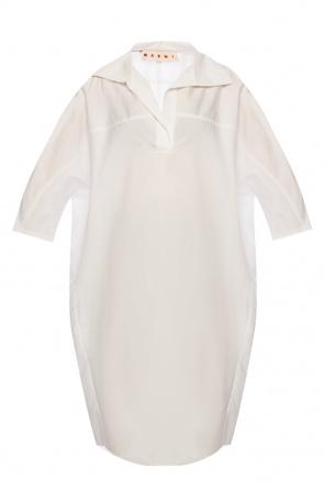 Band collar dress od Marni