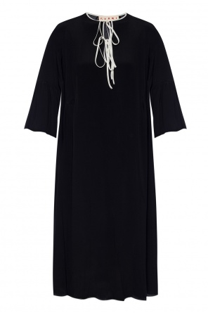 Dress with tie fastening od Marni