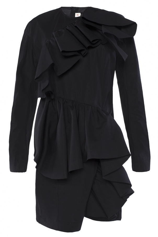 Short ruffle dress od Marni