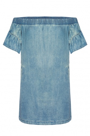 'adela chambray' denim dress od AllSaints