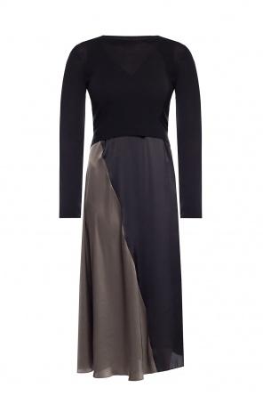 'ageta' dress with sweater od AllSaints