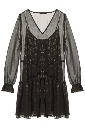'alia' v-neck dress od AllSaints