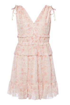 'annie lanai' patterned dress od AllSaints