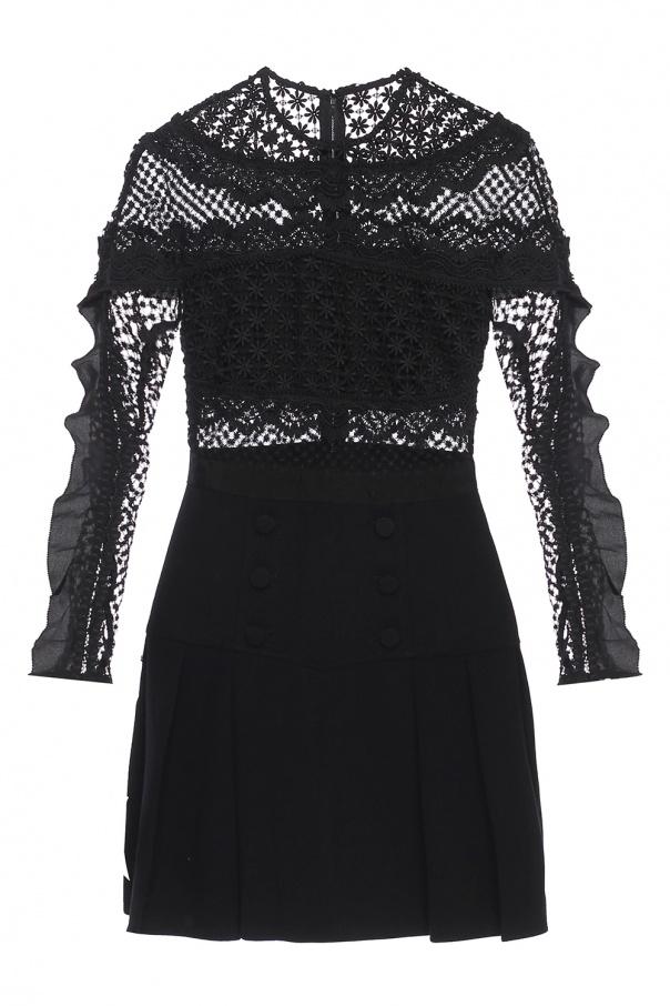3bf6ada2b528 Lace dress with flared bottom Self Portrait - Vitkac shop online