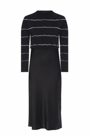 'benno' dress with detachable top od AllSaints