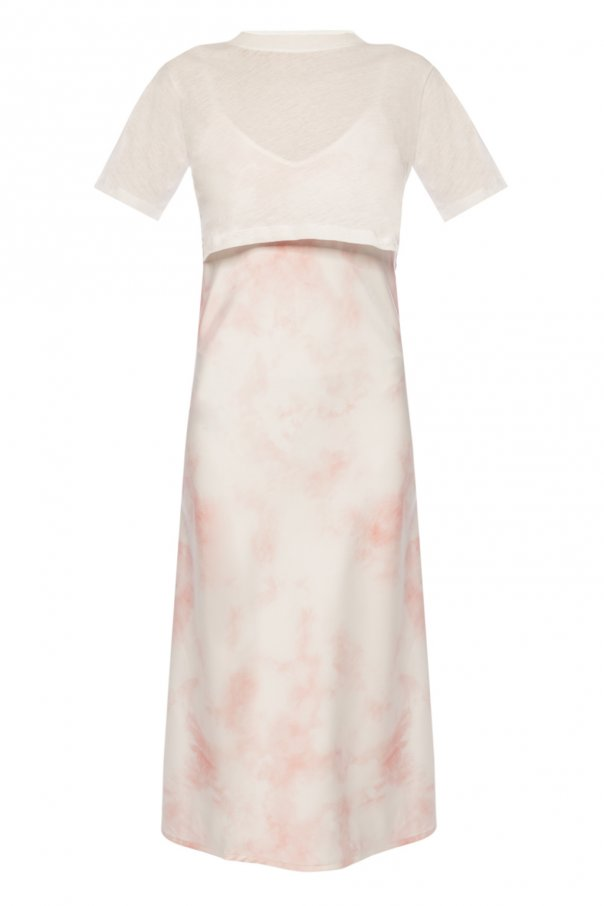 AllSaints 'Benno' dress with T-shirt