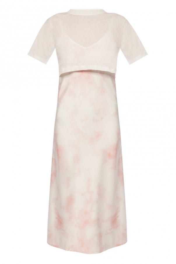 AllSaints Sukienka z odpinanym t-shirtem 'Benno'