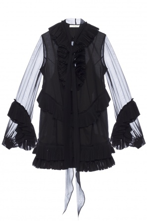 Dress with pleated ruffles od Givenchy