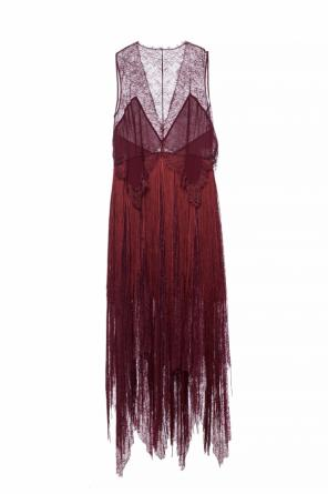 Lace dress with fringes od Givenchy